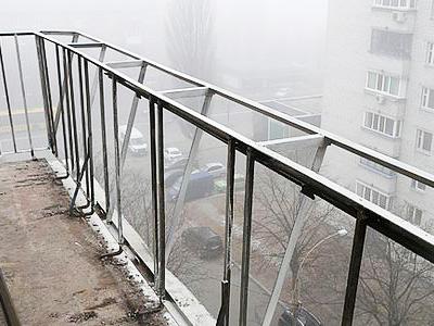Замена парапета балкона