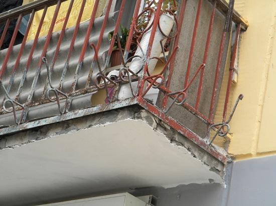 Ремонт основания балкона