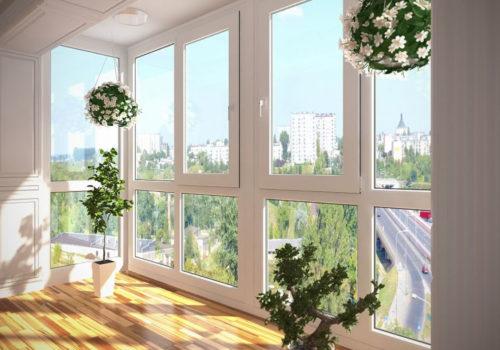 Теплое панорамное остекление балкона или лоджии