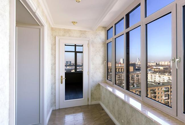 Балконная дверь - одностворчатая