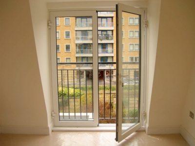 Балконная дверь - двустворчатая