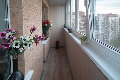 Отделка балкона и отделка лоджии «под ключ»
