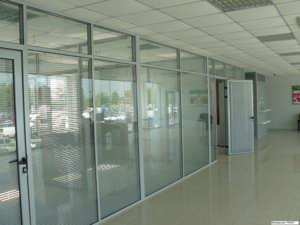 Алюминиевые перегородки для офисов