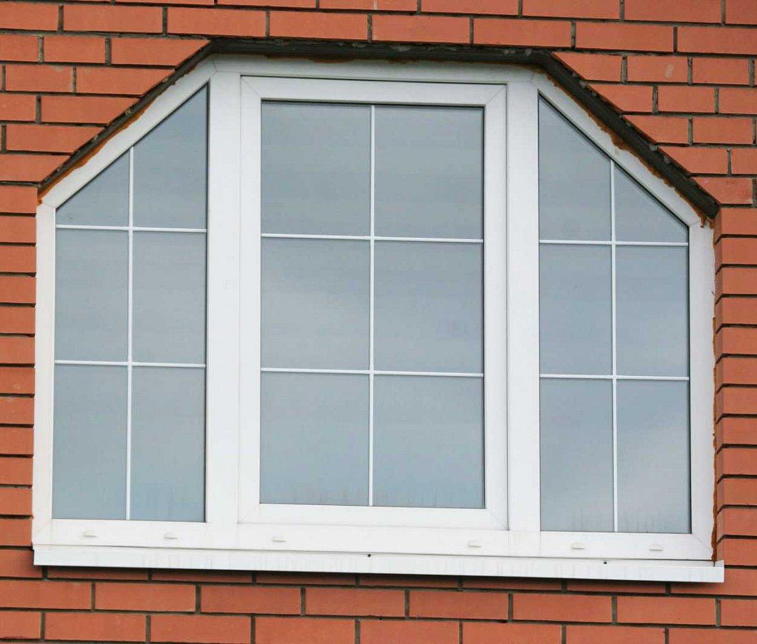 Трапециевидные окна пластиковые
