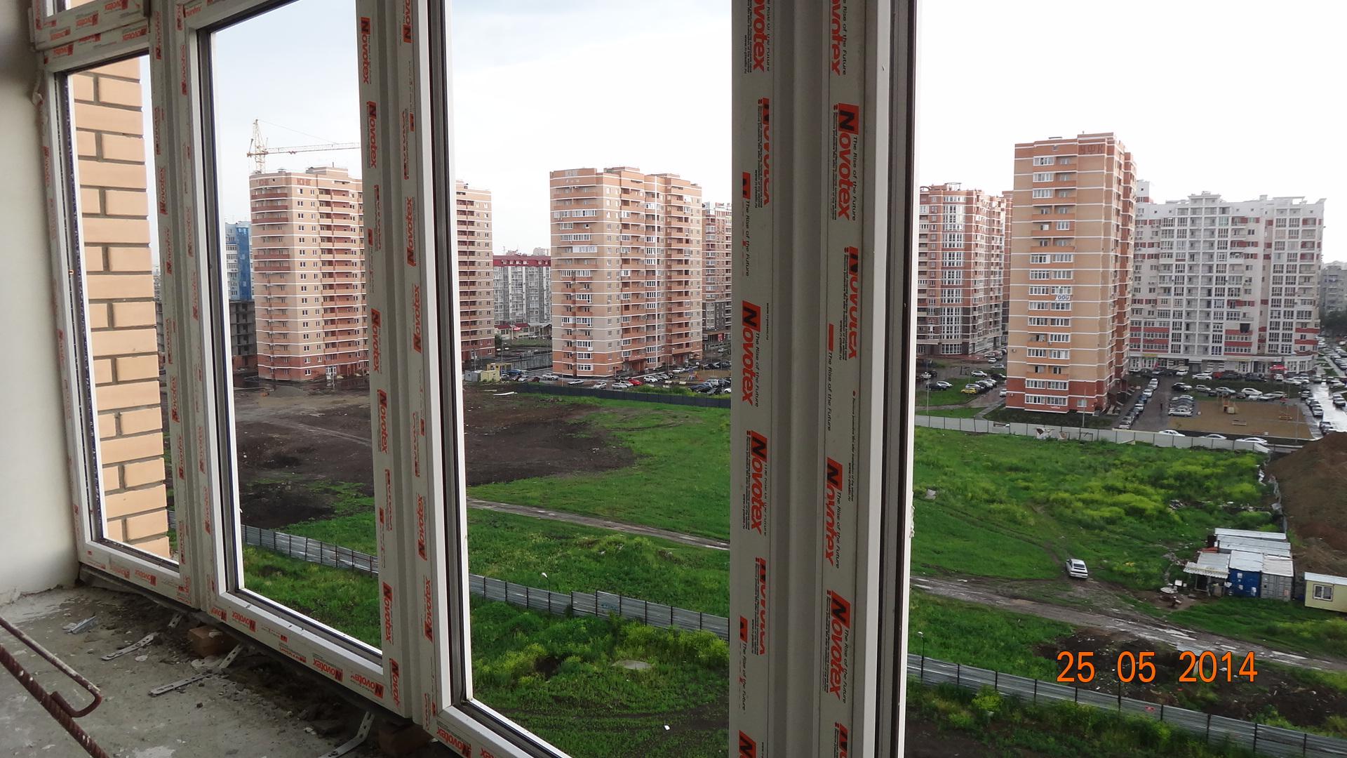 Остекление балкона и лоджий ПВХ - пластиковый профиль NOVOTEX