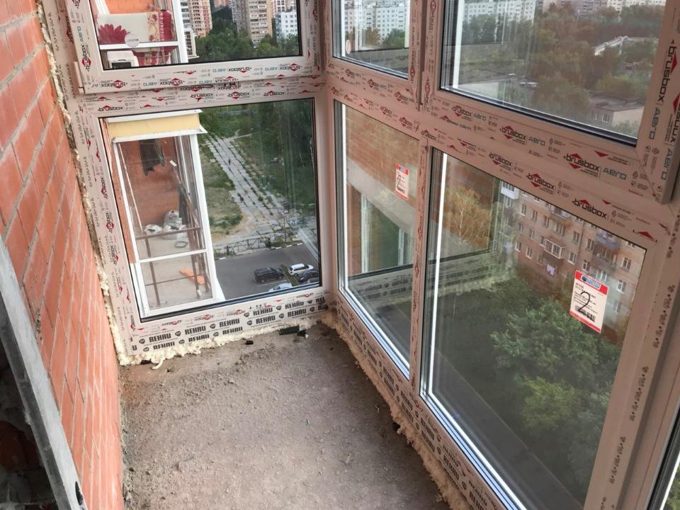 Остекление балкона и лоджий ПВХ - пластиковый профиль BRUSBOX