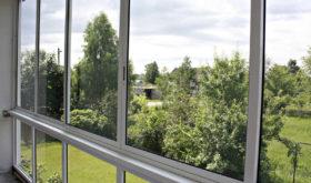 Алюминиевые окна - панорамное остекление