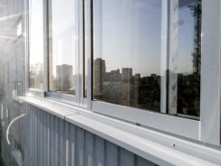 Окна - вид снаружи